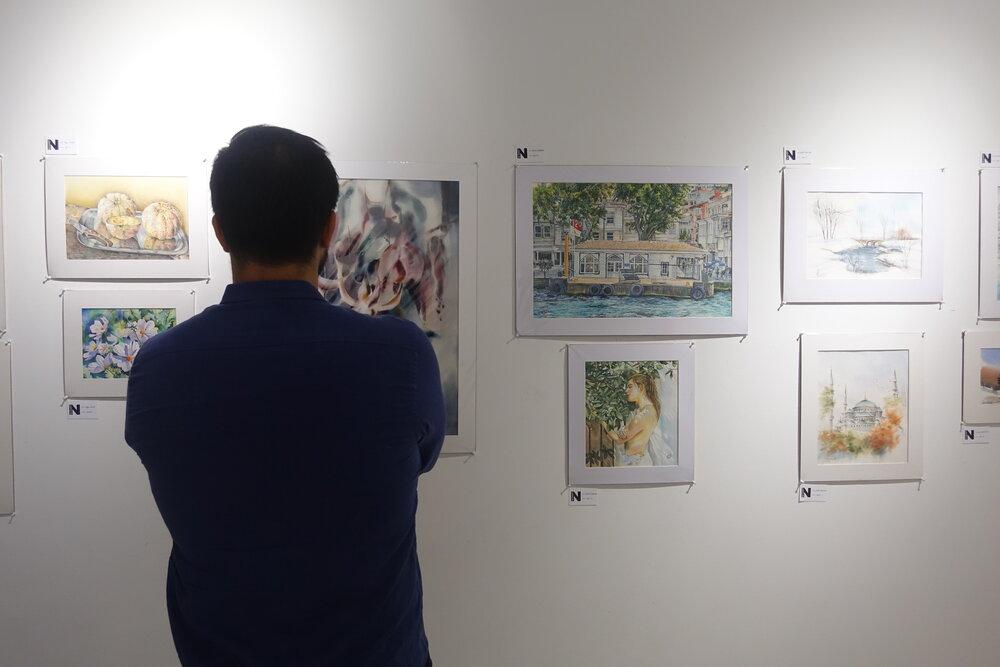 نمایشگاه آثار ۳۷ هنرمند ایرانی در استانبول
