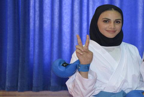 «سارا بهمنیار» سومین المپیکی کاراته ایران