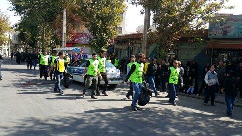 پویش مشارکت عزاداران همدانی در پاکسازی شهر راهاندازی شد
