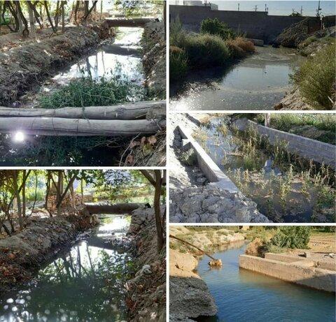 جاری شدن آب در مادی شایج پس از حدود ۲۰ سال