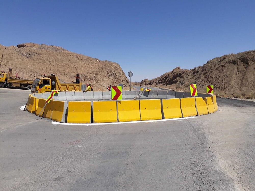 نقطه حادثه خیز ورودی روستای حنا ایمن میشود