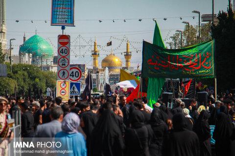 تاسوعای حسینی در مشهد مقدس