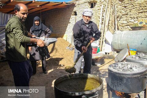 عزاداری تاسوعای حسینی در روستای بارده شهرکرد