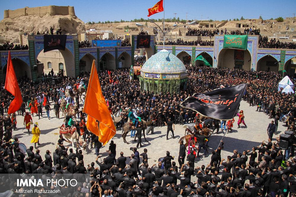 عاشورای حسینی در روستای بافران نایین