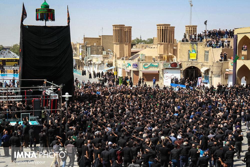 برگزاری آئینهای عزاداری از شاخصههای یزد است