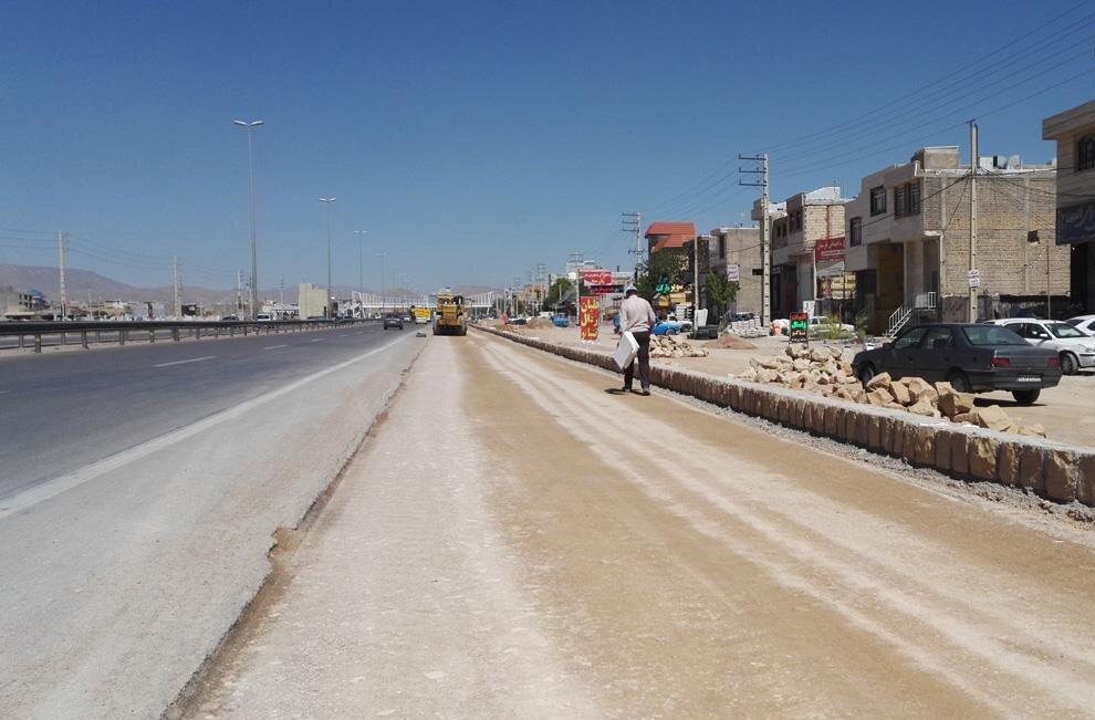 پایان عملیات تعریض خیابان ملت شهرکرد در روزهای آینده