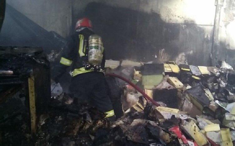 کاهش ۱۰ درصدی حوادث آتشسوزی در سمیرم
