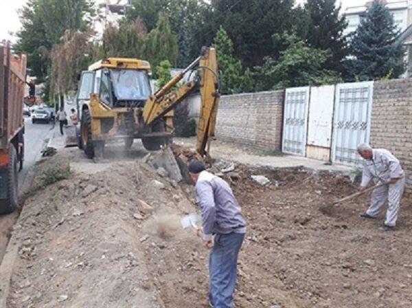 تداوم پروژههای پیادروسازی در نقاط مختلف ارومیه