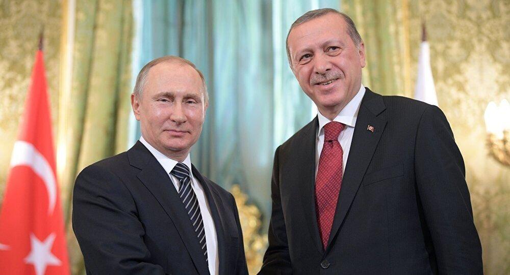 دیدار اردوغان و پوتین