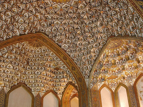 Safavid less known palace in Isfahan