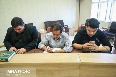 نشست خبری فرماندهی سپاه صاحب الزمان (عج)