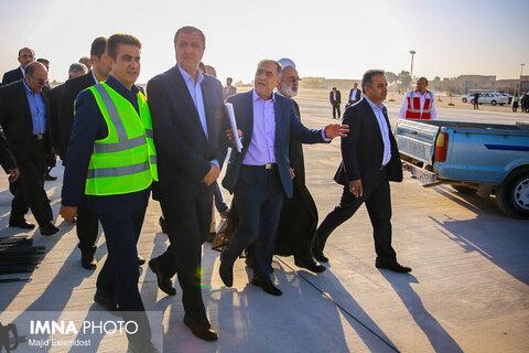 افتتاح پایانه بار هوایی فرودگاه شهید بهشتی