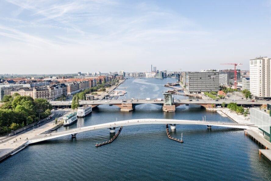 احداث پلی مخصوص دوچرخهسواری و پیادهروی در دانمارک