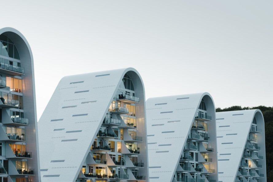 با زیباترین ساختمان مسکونی دانمارک آشنا شوید
