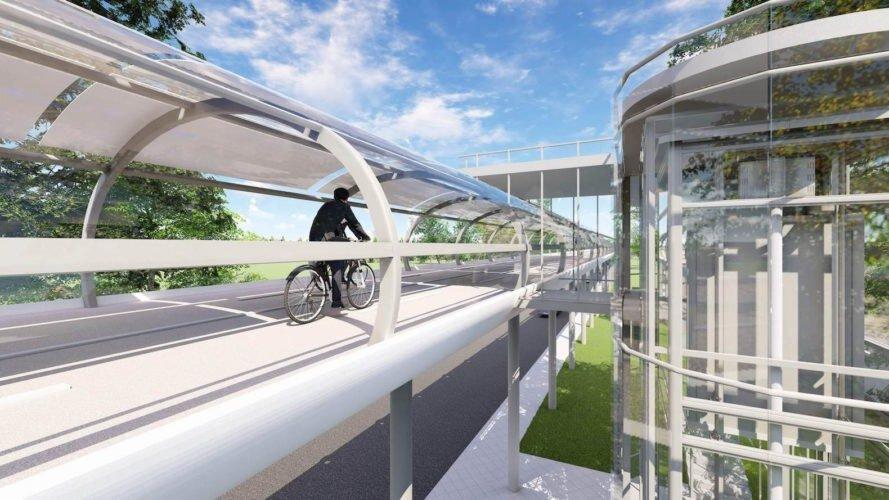 بزرگراه دوچرخه در کالیفرنیا ساخته میشود