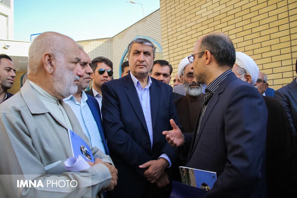 افتتاح پروژههای عمرانی شهر بهارستان