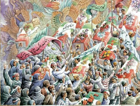 نقاشی دفاع مقدس؛ تاثیرگذار در تاریخ هنر انقلاب اسلامی