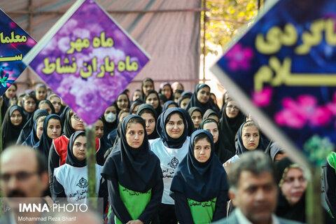 زنگ مهر، مقاومت و ایثار در مدارس شاهینشهر نواخته شد