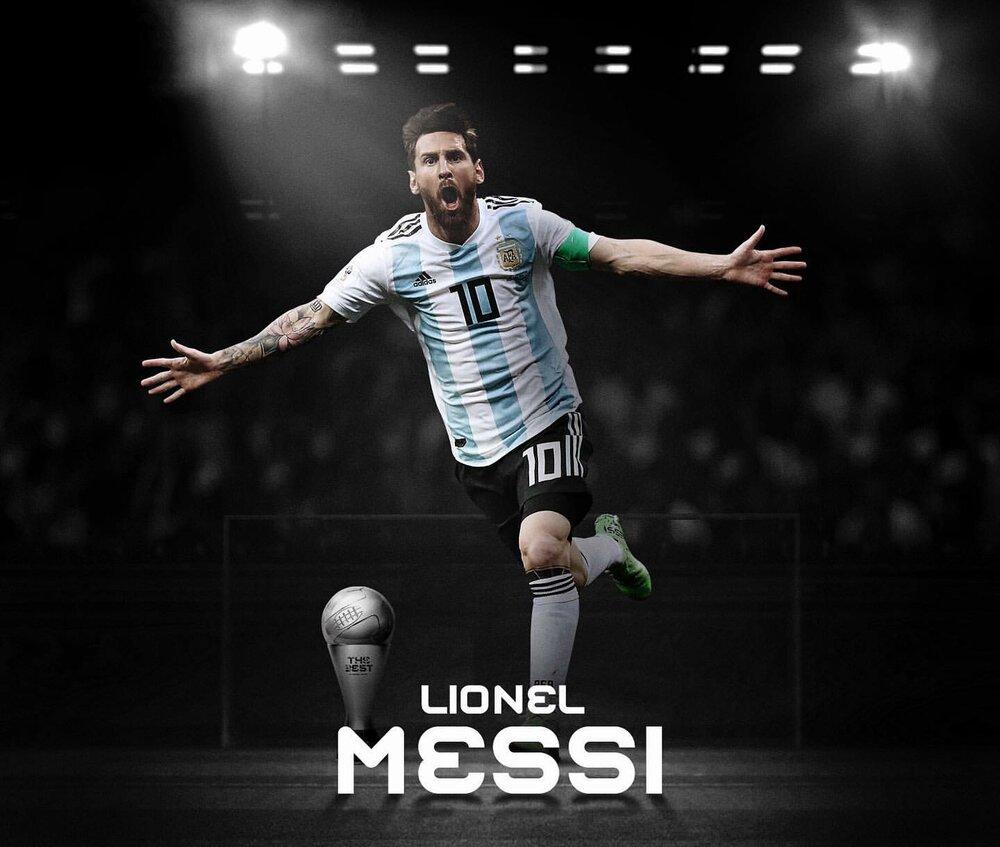 لیونل مسی بهترین بازیکن جهان شد
