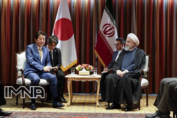 گسترش روابط تهران - توکیو و اجرای سریعتر توافقات فیمابین