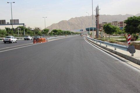 تعریض بزرگراه آزادی مشهد به ۵ مسیر