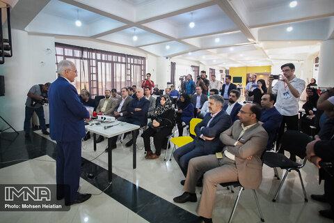 بازدید شهردار از هاب اصفهان