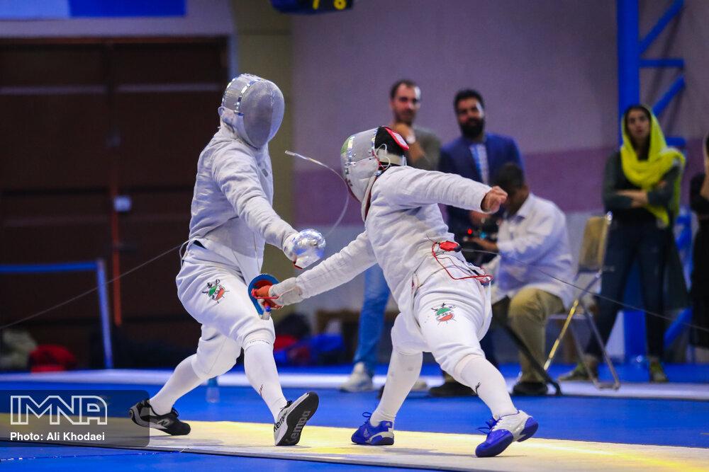 رضایی: اصفهان بهترین سالن شمشیربازی ایران را دارد