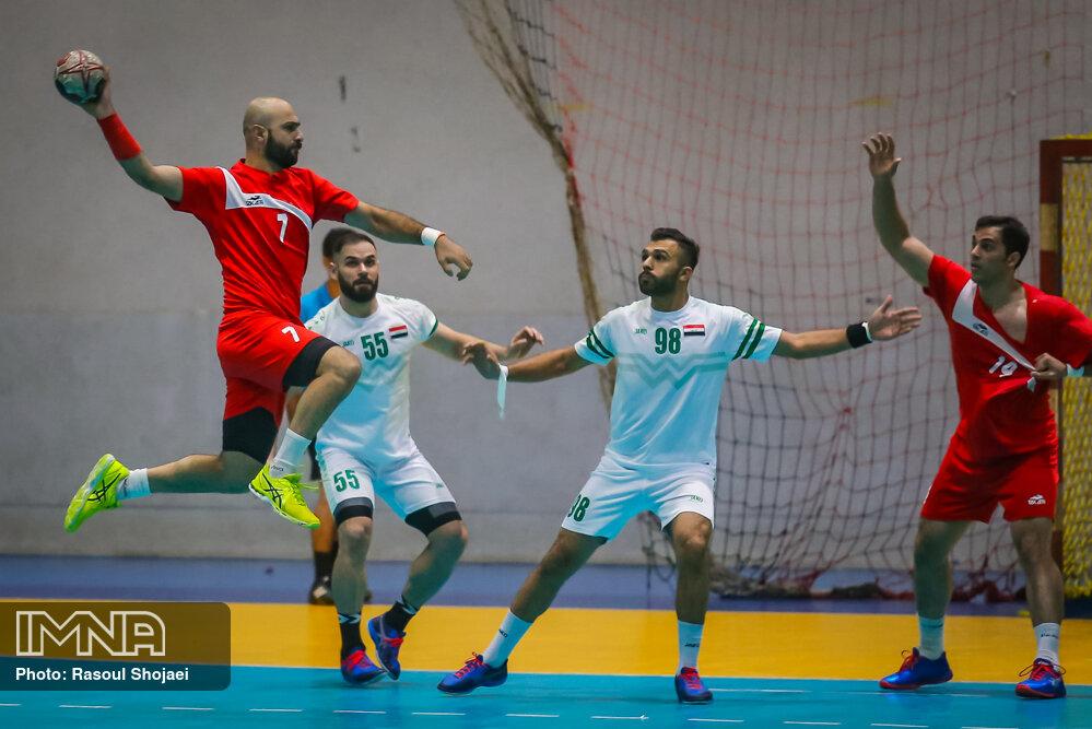 هندبال ایران و عراق
