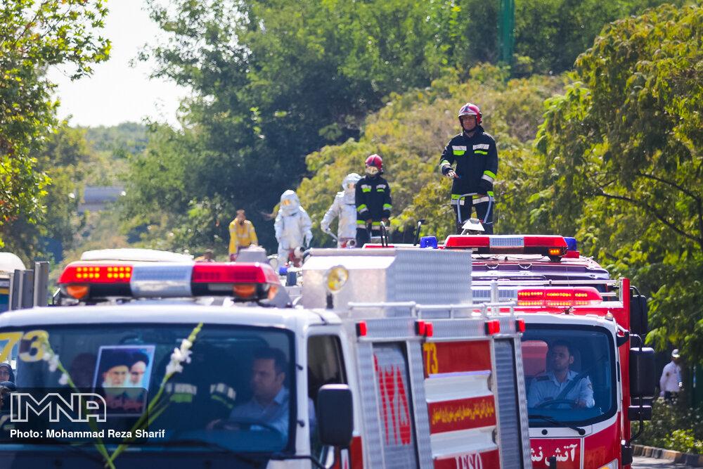 چه تعداد از تماسهای سامانه ۱۲۵ اصفهان منجر به عملیات شد؟