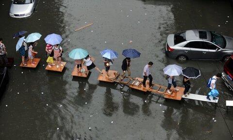 راهکار چین برای جلوگیری از غرق شدن شهرها