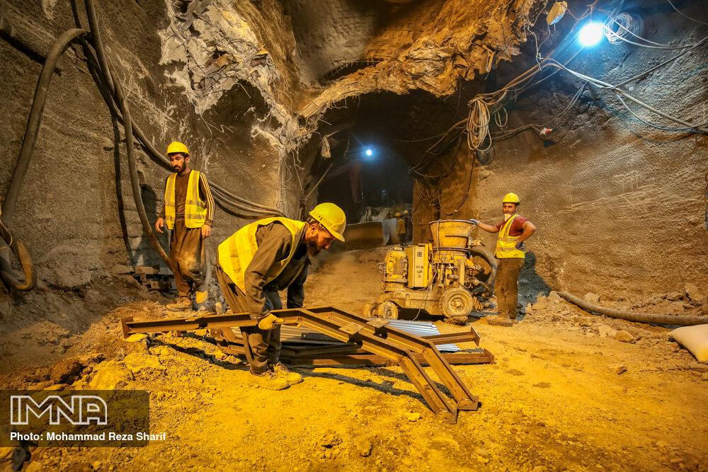 پیشرفت حدود ۸۵ درصدی ایستگاه متروی عاشق اصفهانی