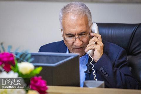 گزارش پاسخگویی آنلاین شهردار اصفهان در سامد