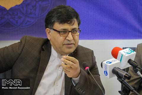 نشست خبری رییس سازمان فرهنگی، اجتماعی و ورزشی شهرداری اصفهان