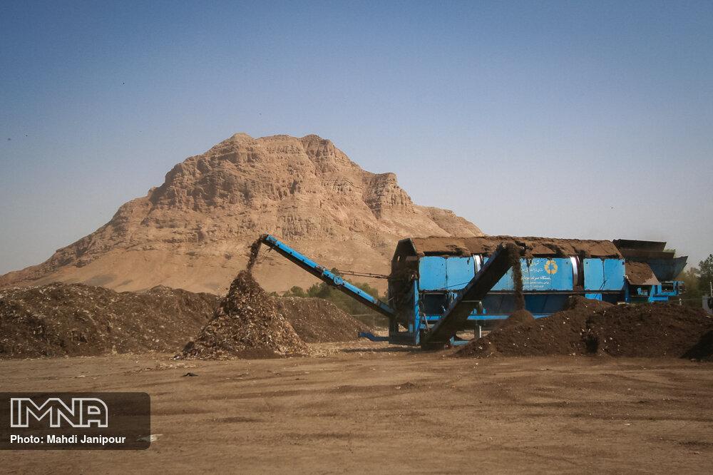 انتقال دانش فنی احداث خطوط پردازش پسماند اصفهان به یزد