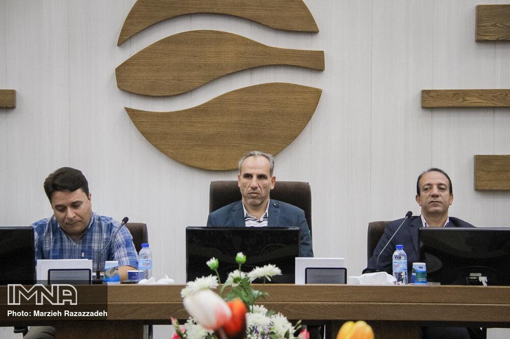 نشست خبری شرکت آب منطقه ای اصفهان