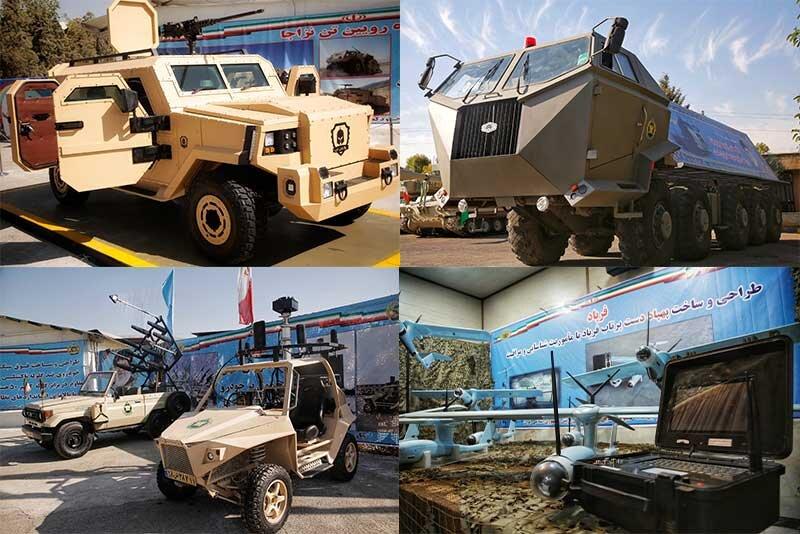 دستاوردهای جدید نیروی زمینی ارتش در حوزه رزم زمینی رونمایی شد