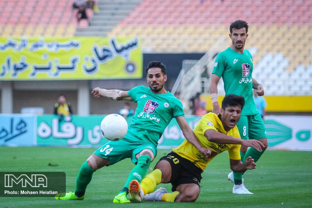 پیروزی زردپوشان در شهرآورد دوستانه اصفهان