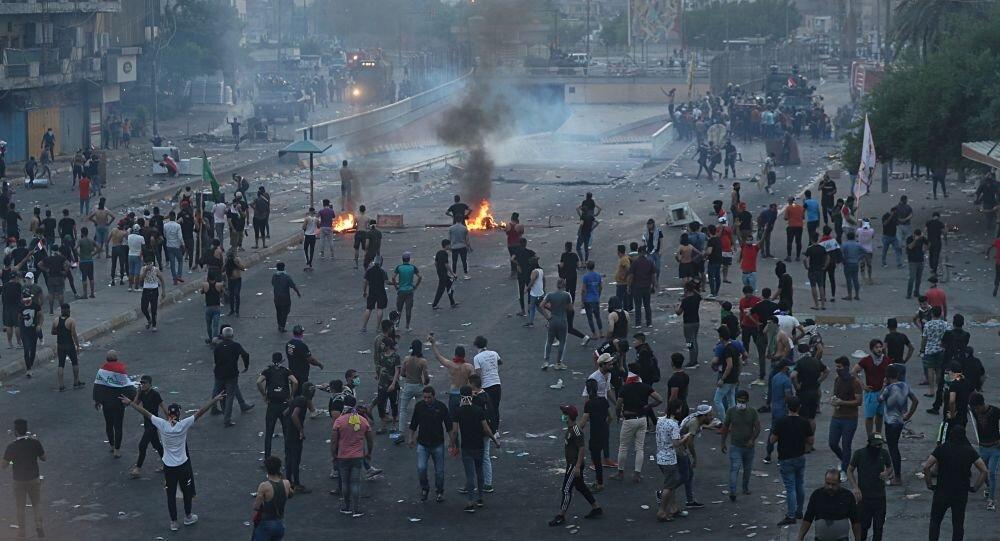 تعداد کشته شدگان اعتراضات عراق به ۶۵ نفر رسید