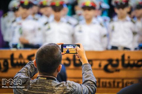 مراسم تجلیل از نمونه های ترافیکی استان اصفهان