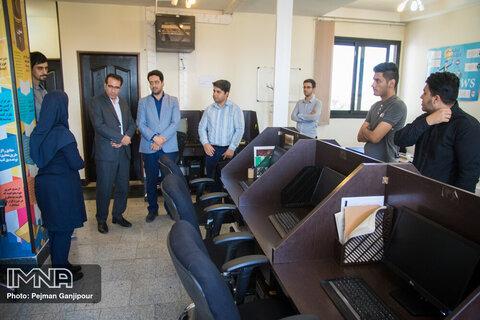 بازدید مدیر صندوق کارآفرینی امید استان اصفهان از ایمنا