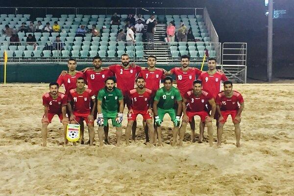 اعلام زمان برگزاری مسابقات فوتبال ساحلی قهرمانی آسیا
