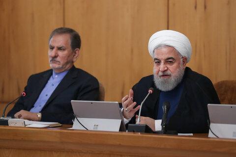 روحانی: امسال سال افتتاح طرح های مهم در کشوراست