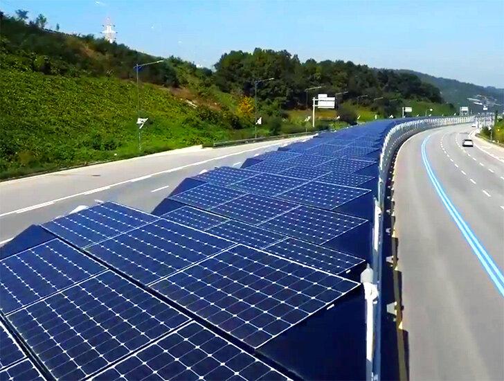 مسیر دوچرخهسواری خورشیدی در کره جنوبی