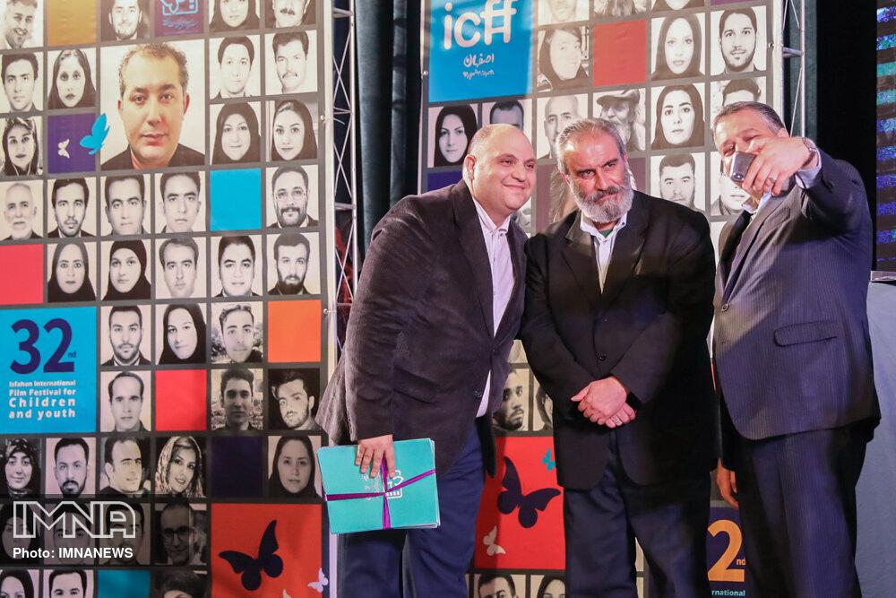 مراسم تقدیر از عوامل جشنواره فیلم های کودک و نوجوان