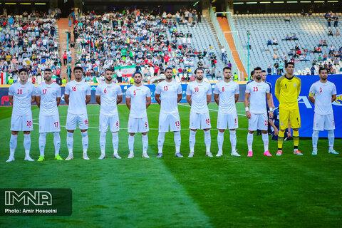پیروزی دو گله تیم ملی در نیمه نخست