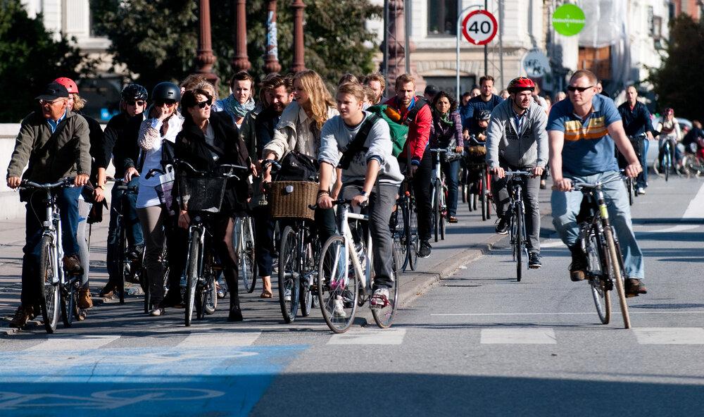 روش های جالب آمریکا برای افزایش مسیرهای دوچرخهسواری