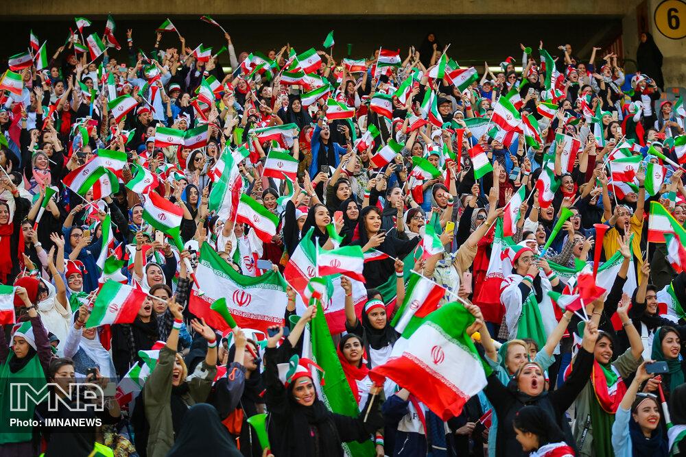 دیدار تیم های ملی ایران و کامبوج