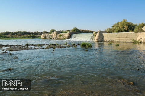 آب بند گلی در روستای کلیشاد برآن