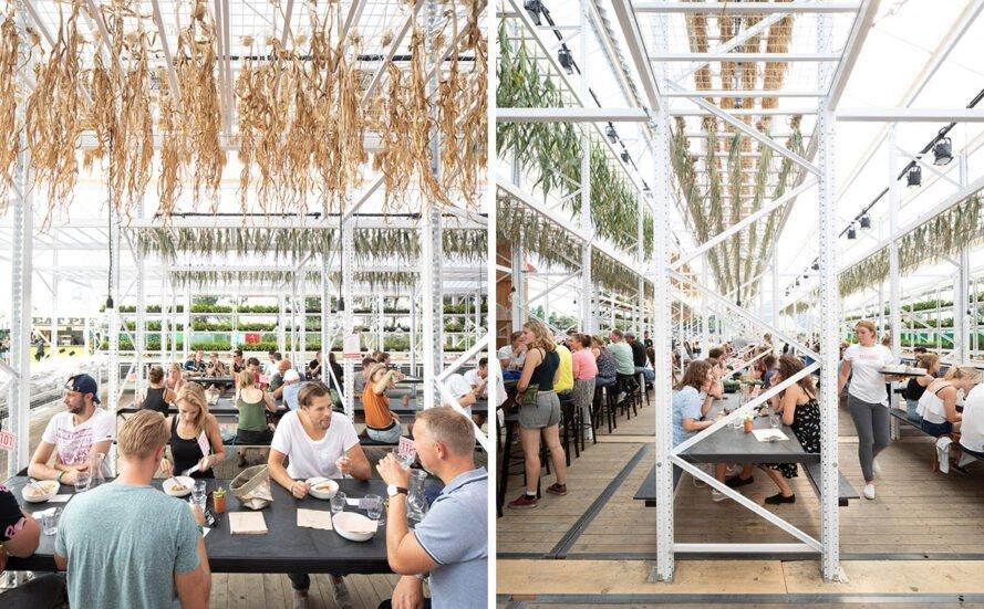 عجایب شهر / احداث یک رستوران پایدار در هلند