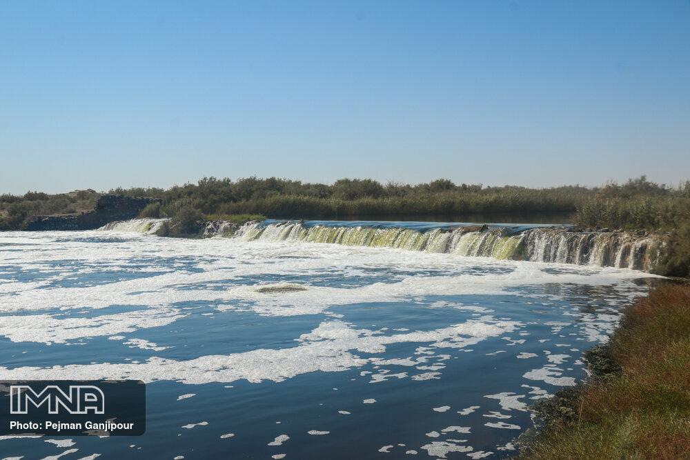 مهرماه امسال ۴ میلیون ۲۹۵ هزار مترمکعب آب به گاوخونی رسید